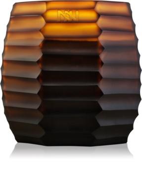 Onno Manyara Brown dišeča sveča  11,5 x 13 cm