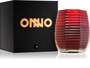 Onno Lotus Flower Red Scented Candle 16 x 20 cm  red