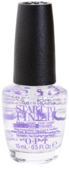 OPI Start To Finish lac intermediar de unghii pentru hranire 3 in 1