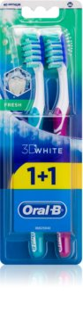 Oral B 3D White Fresh zubné kefky medium 2 ks