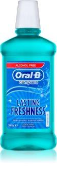 Oral B Complete bain de bouche anti-plaque dentaire pour des gencives saines