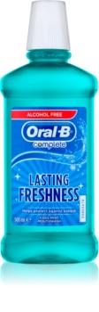 Oral B Complete płyn do płukania jamy ustnej przeciw płytce nazębnej i dla zdrowych dziąseł