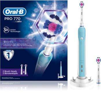 Oral B PRO 770 3D WHITE D16.524.U escova de dentes eléctrica