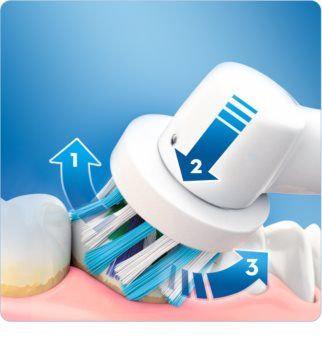Oral B PRO 770 3D WHITE D16.524.U електрическа четка за зъби