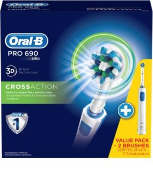 Oral B PRO 690 CrossAction D16.524H escova de dentes eléctrica