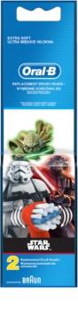 Oral B Stages Power EB10 Star Wars końcówki wymienne do szczoteczki do zębów extra soft