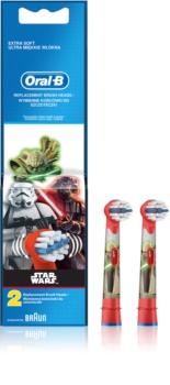Oral B Stages Power EB10 Star Wars náhradné hlavice na zubnú kefku extra soft