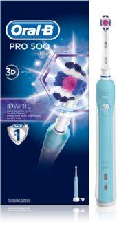 Oral B Pro 500 D16.513.U 3D White elektrische Zahnbürste
