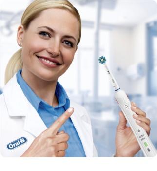 Oral B Smart 4 4000 N D601.524.3 elektrický zubní kartáček