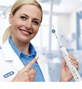 Oral B Smart 4 4000 N D601.524.3 escova de dentes eléctrica