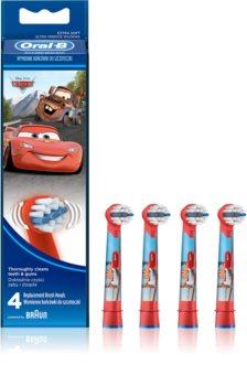 Oral B Stages Power EB10 Cars cabeças de reposição para escova de dentes extra suave