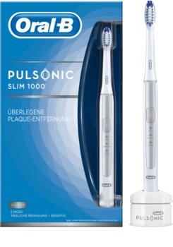 Oral B Pulsonic Slim One 1000 Silver sonična zobna ščetka
