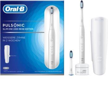 Oral B Pulsonic Slim One 2200 White sonický zubní kartáček