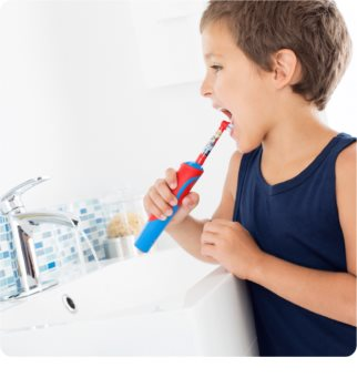 Oral B Stages Power Cars D12.513K elektrische Zahnbürste für Kinder