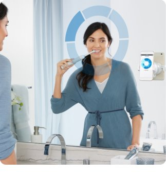 Oral B Genius 10000N White elektrická zubná kefka