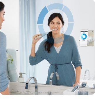 Oral B Genius 10000N White električna zobna ščetka