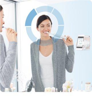 Oral B Genius 10000N Rosegold escova de dentes eléctrica