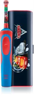Oral B Stages Power Cars D12.513.1 elektrická zubná kefka s puzdrom