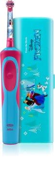 Oral B Stages Power Frozen D12.513K escova de dentes eléctrica com estojo