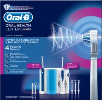 Oral B Oxyjet +3000 električna četkica za zube i oralni tuš 2 u1