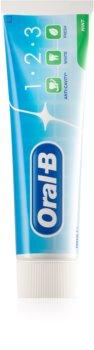 Oral B 1-2-3 dentífrico com flúor 3 em 1