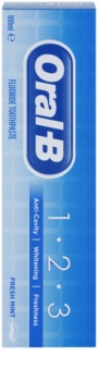 Oral B 1-2-3 fogkrém fluoriddal
