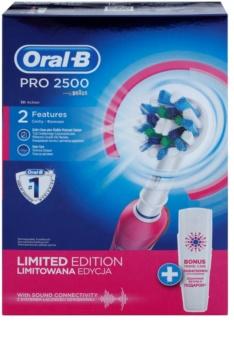 Oral B Pro 2500 Pink D20.513MX elektrický zubní kartáček
