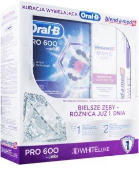 Oral B 3D White Luxe zestaw kosmetyków I.