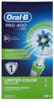 Oral B Pro 400 D16.513 CrossAction Green elektromos fogkefe