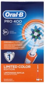 Oral B Pro 400 D16.513 CrossAction Orange cepillo de dientes eléctrico