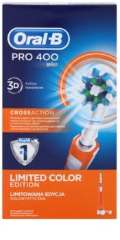 Oral B Pro 400 D16.513 CrossAction Orange električna četkica za zube