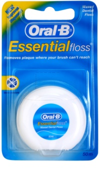 Oral B Essential Floss Waxed Dental Floss