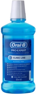 Oral B Pro-Expert Clinic Line ústní voda bez alkoholu