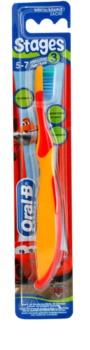 Oral B Stages 3 escova de dentes para crianças soft