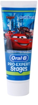 Oral B Pro-Expert Stages Cars dentifrice pour enfants