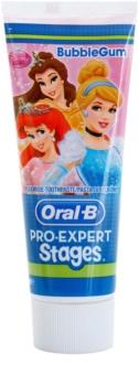 Oral B Pro-Expert Stages Princess pasta de dentes para crianças