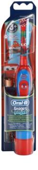 Oral B Stages Power DB4K Cars bateriový dětský zubní kartáček soft