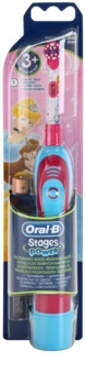 Oral B Stages Power DB4K Princess szczoteczka do zębów dla dzieci na baterie soft