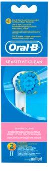 Oral B Sensitive Clean EBS 17 kompaktní hlavy zubního kartáčku