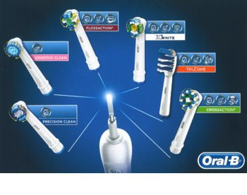 Oral B Pro 750 D16.513.UX CrossAction elektrische Zahnbürste