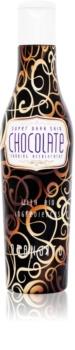 Oranjito Max. Effect Chocolate αντηλιακό γαλάκτωμα για το σολάριουμ με γιο-συστατικά και επιταχυντή μαυρίσματος