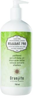 Oranjito Massage Pro masažni losjon z aloe vero