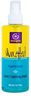 Oranjito Level 2 Shake spray abbronzante bifasico solarium