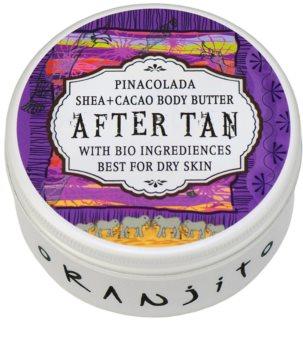 Oranjito After Tan Bio Pinacolada manteiga corporal  pós-solar