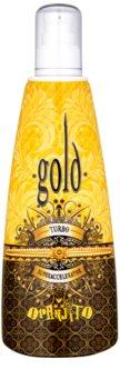 Oranjito Max. Effect Gold Turbo loção bronzeadora para solário para acelerar o bronzeado