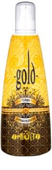 Oranjito Max. Effect Gold Turbo opaľovacie mlieko do solária pre urýchlenie opálenia
