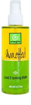 Oranjito Level 3 Shake dvojfázový opaľovací sprej do solária