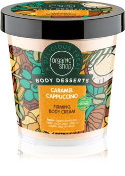 Organic Shop Body Desserts Caramel Cappuccino Firming Body Cream