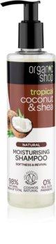 Organic Shop Natural Coconut & Shea зволожуючий шампунь для сухого або пошкодженого волосся