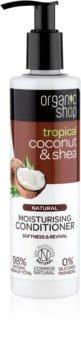 Organic Shop Natural Coconut & Shea après-shampoing hydratant pour cheveux secs et abîmés
